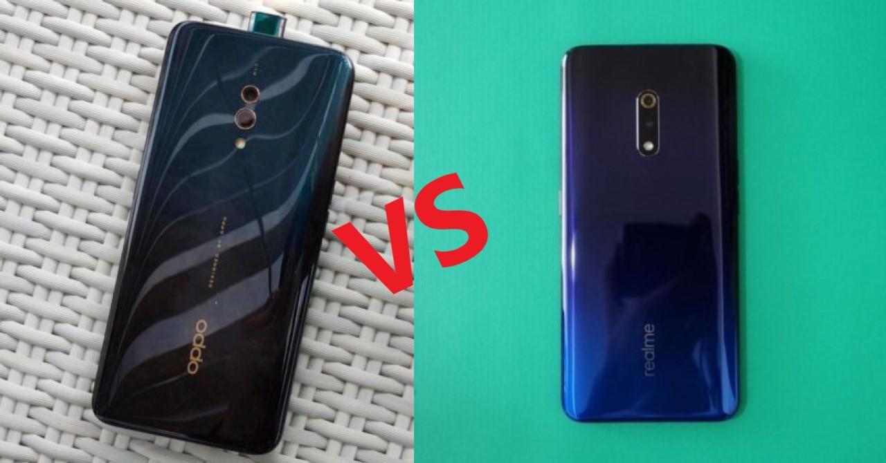 OPPO K3 vs Realme X Header