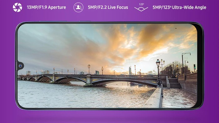 Review Samsung Galaxy M30 Kamera