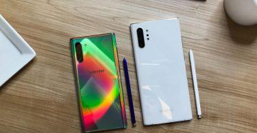 Samsung Galaxy Note 10 Aura Glow