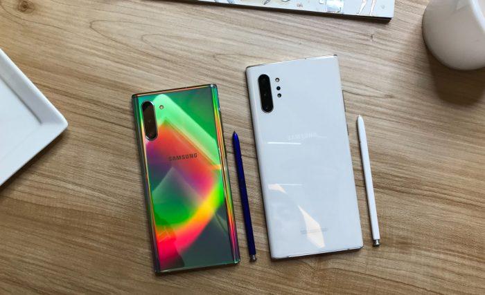 Samsung Galaxy Note 9 vs Note 10 kamera