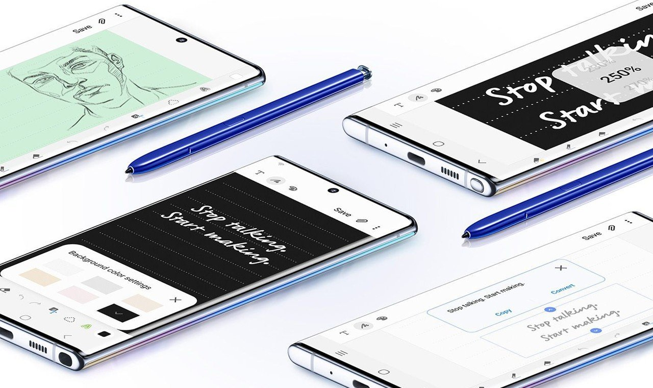 Cara Screenshot di Samsung Galaxy Note 10 Feature