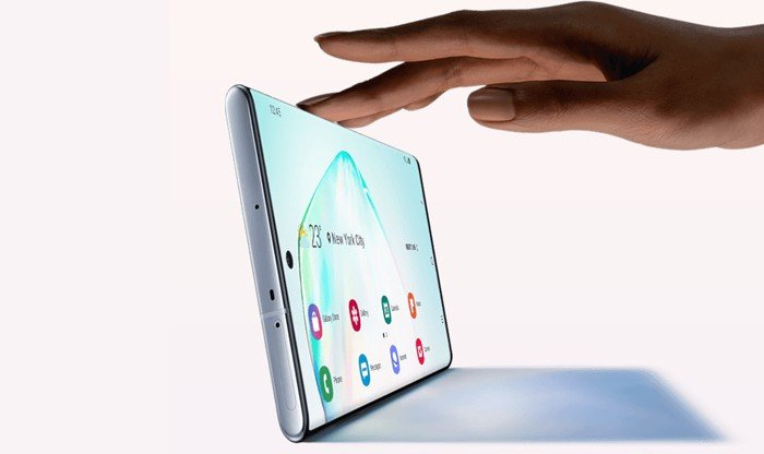 Samsung Galaxy Note 10 Sentuh