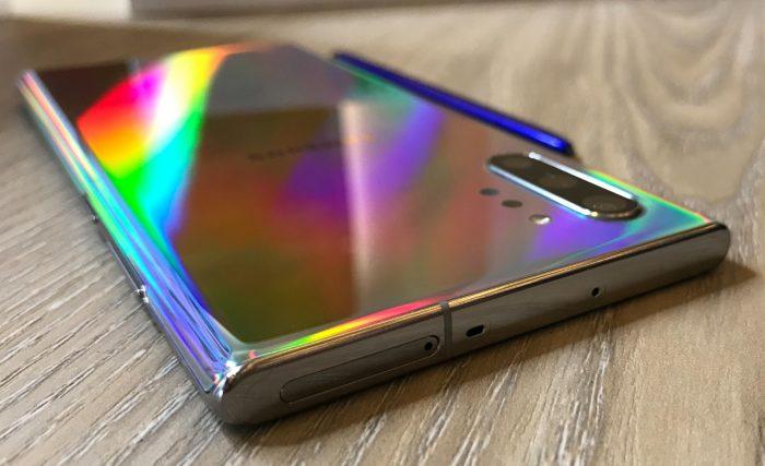 Samsung Galaxy Note 10 Top