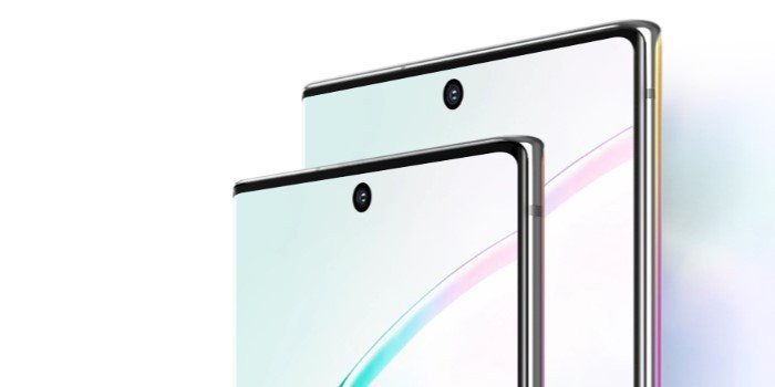 Samsung Galaxy Note 10 Vs Note 10 Plus Layar
