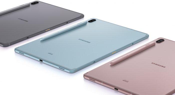 Samsung Galaxy Tab S6 Back