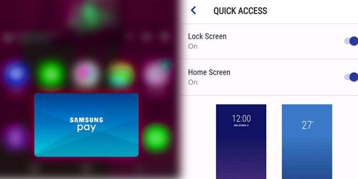 Tips Hilangkan Widget Samsung Pay APK Dari Home Screen