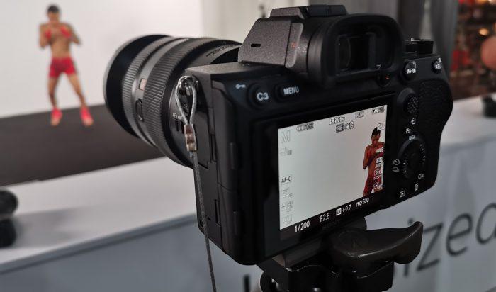 Sony Alpha 7R IV Display