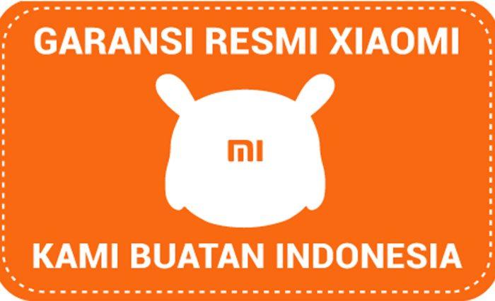 Stiker garansi resmi Xiaomi