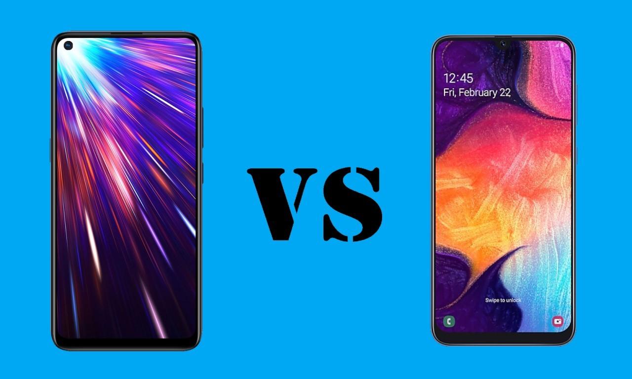 vivo Z1 Pro VS Samsung Galaxy A50 Header