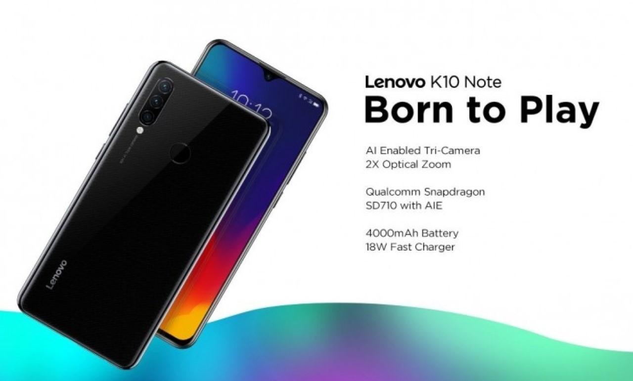 Kelebihan dan Kekurangan Lenovo K10 Note Header