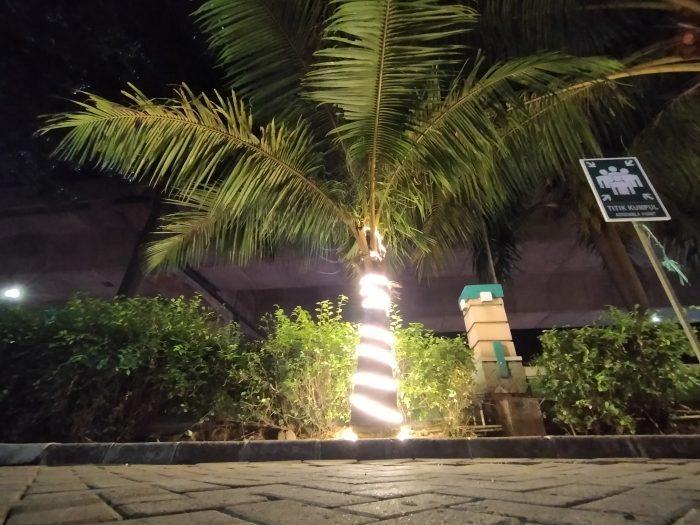 OPPO A Kamera Belakang Ultra Wide Malam Pohon