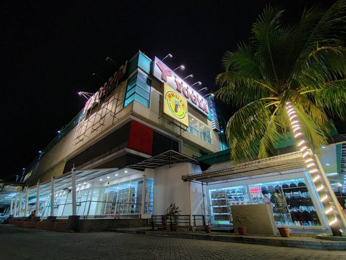 OPPO A Kamera Belakang Ultra Wide Malam Toserba Night Mode