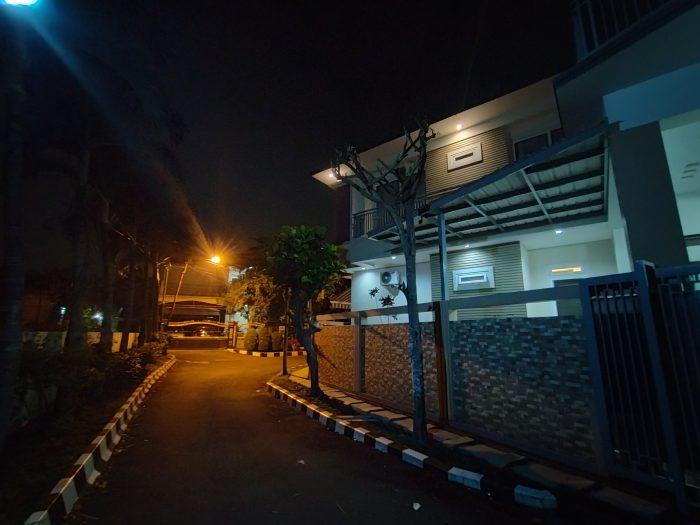 OPPO A9 2020 Kamera Belakang Malam Rumah Ultra Wide