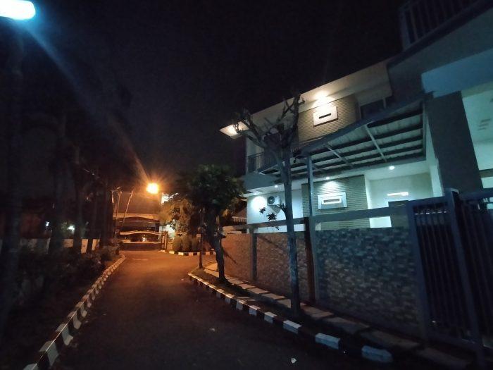 OPPO A9 2020 Kamera Belakang Malam Rumah Wide
