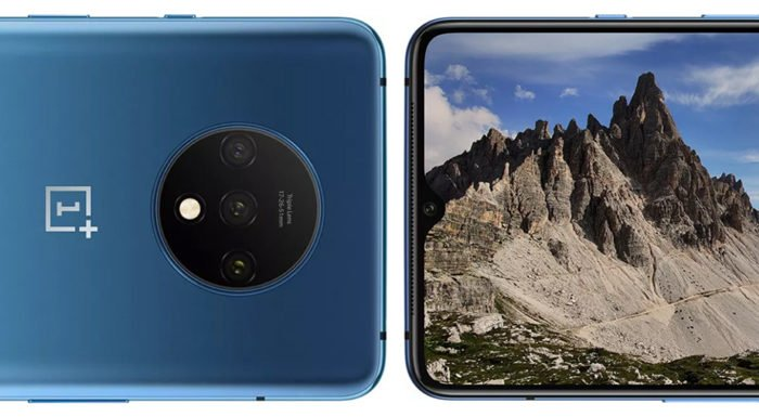 OnePlus 7T Back Front