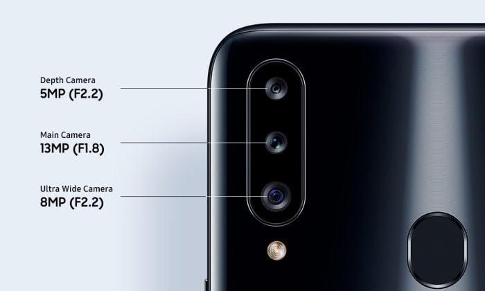 Samsung A20 vs A20s Kamera