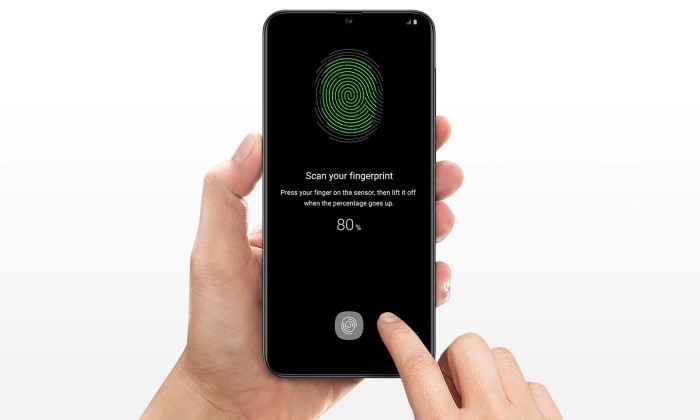 Samsung A30 vs A30s Fingerprint