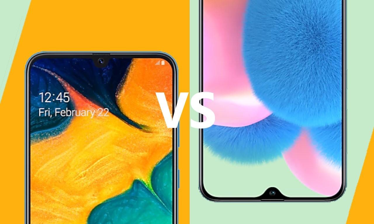 Samsung A30 vs A30s Header