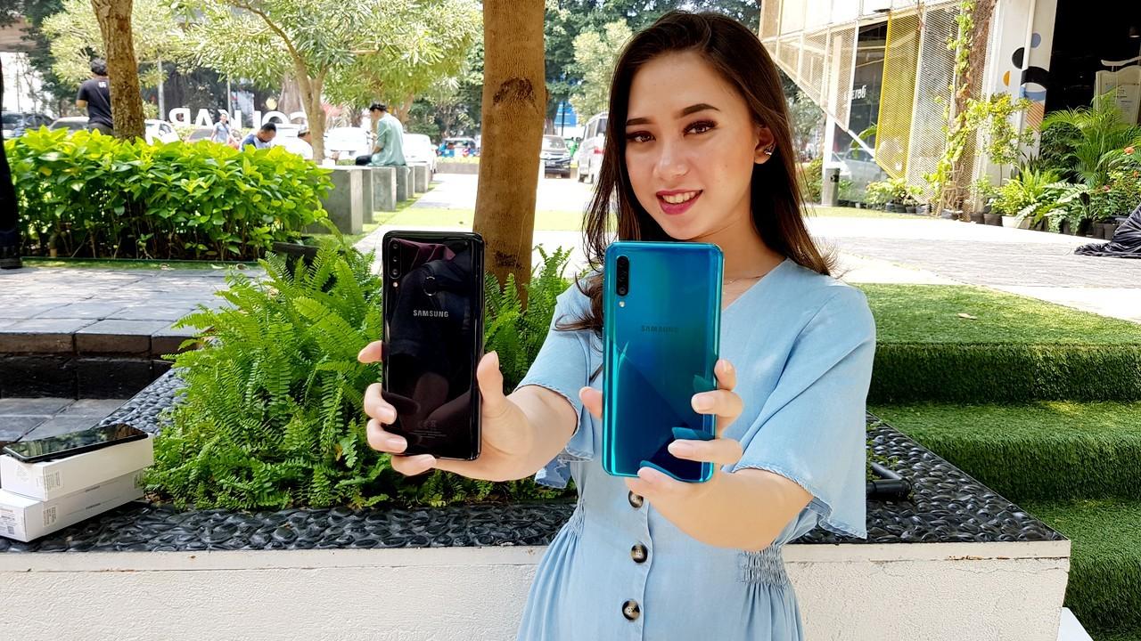 Samsung Galaxy A20s A30s Lauch header