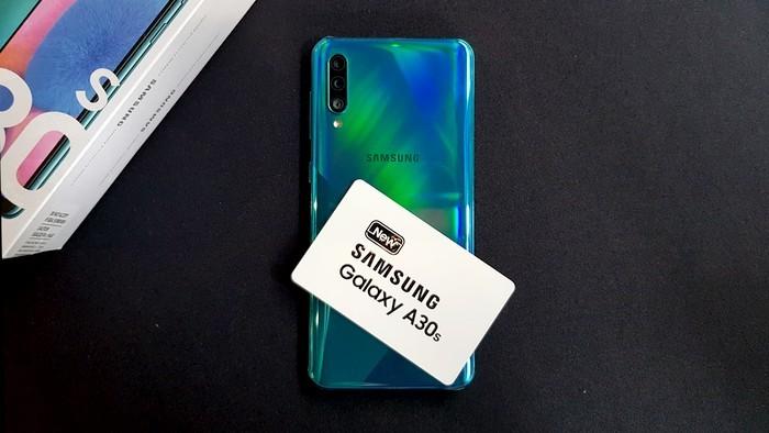 Samsung Galaxy A30s Belakang