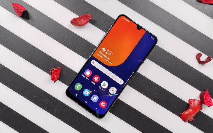 Samsung Galaxy A50s Display