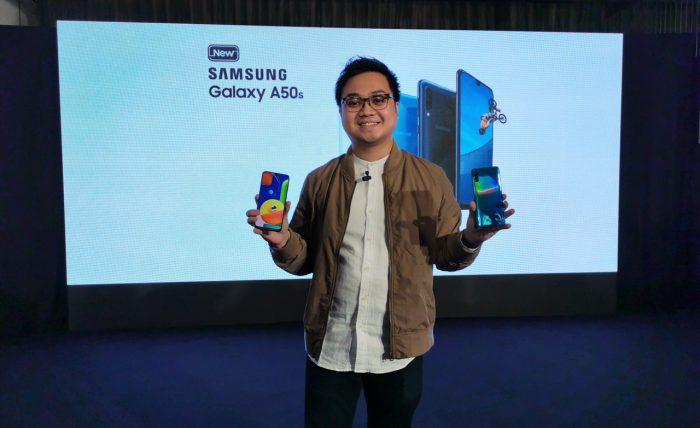 Samsung Galaxy A50s Display