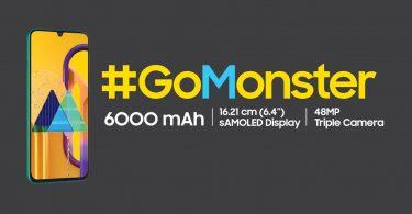 Samsung Galaxy M30s Header