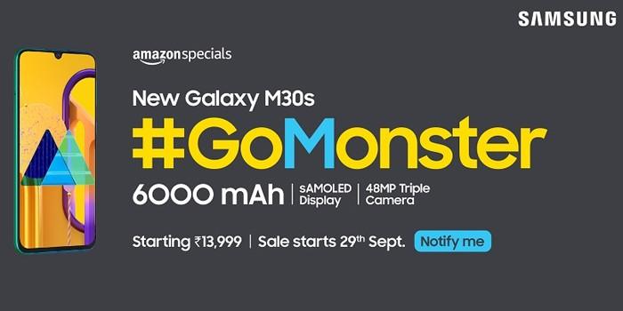 Samsung Galaxy M30s Poster