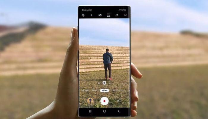 Samsung Galaxy Note 10 Kamera Official