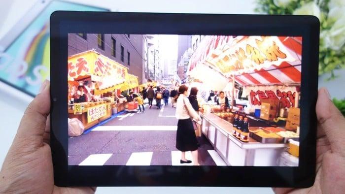 Samsung Galaxy Tab S5e Layar