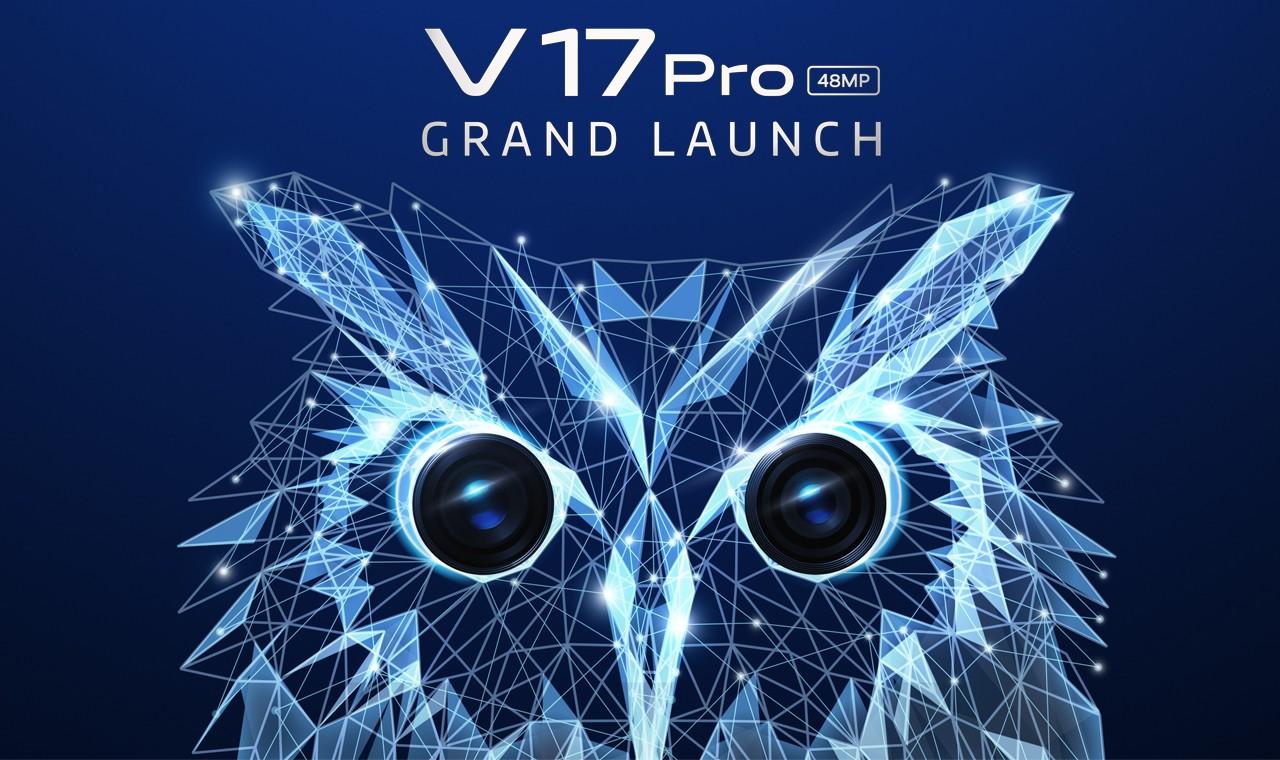 vivo v17 pro grand launch