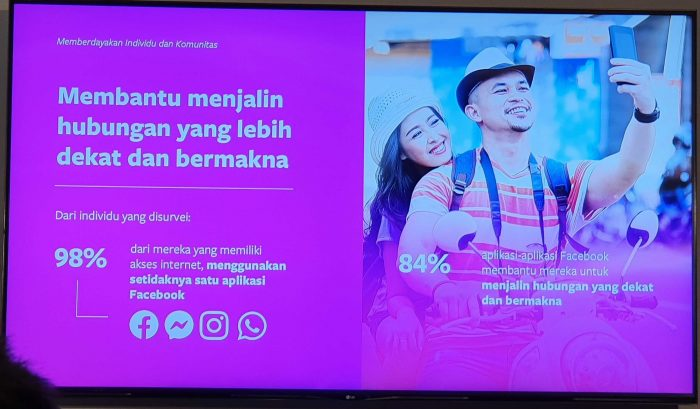 Facebook Indonesia Summit 2019 Hubungan