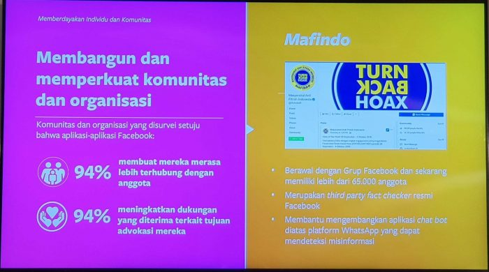 Facebook Indonesia Summit 2019 TurnBack Hoax