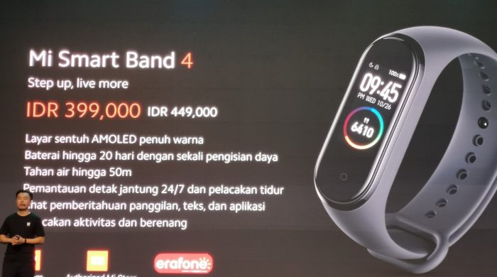Mi Smart Band 4 Harga