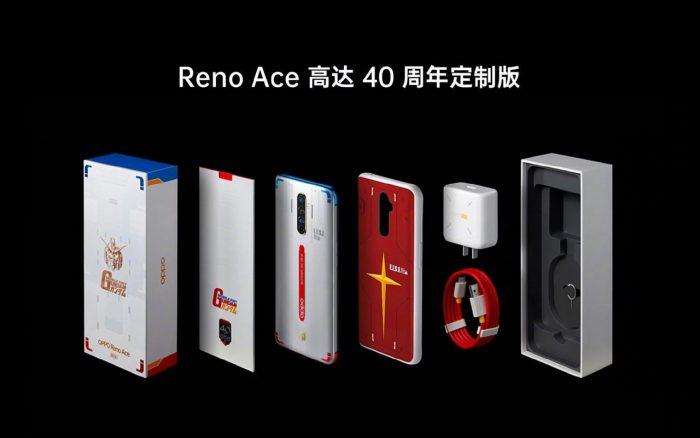 OPPO Reno Ace Gundam All