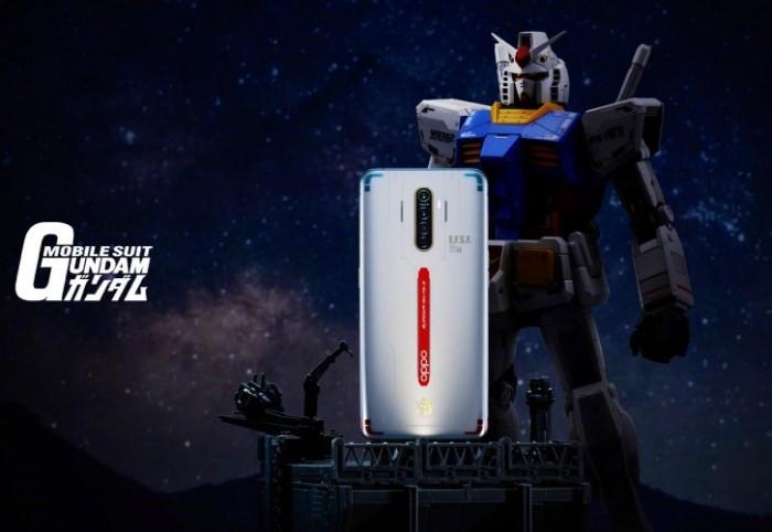 OPPO Reno Ace Gundam Back