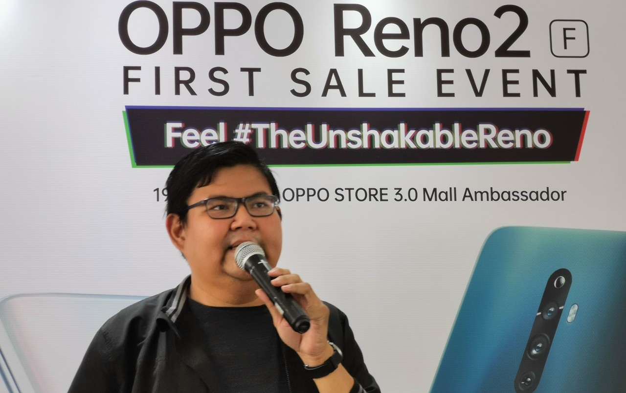 OPPO Reno2 F FirstSale Feature