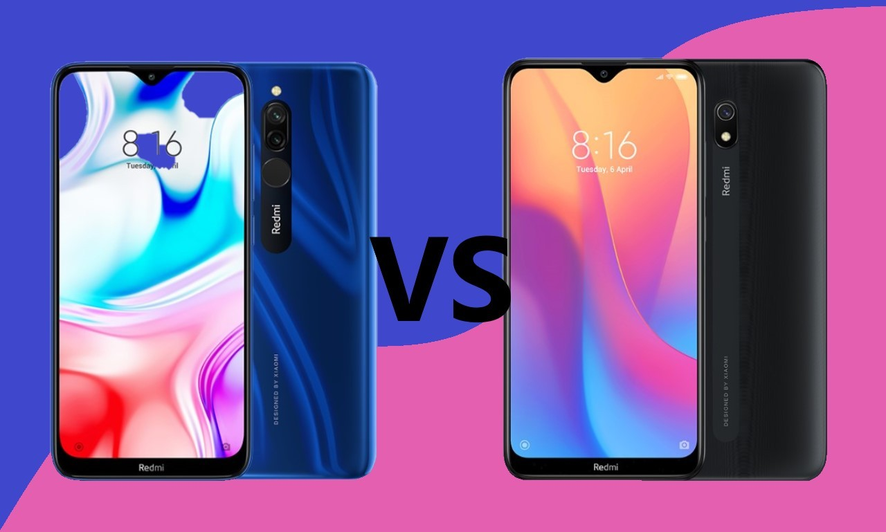 Redmi 8 Vs Redmi 8A Header