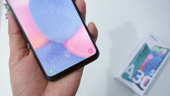 Samsung Galaxy A30s Fingerprint