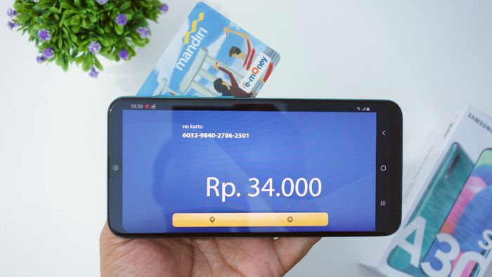 Samsung Galaxy A30s NFC