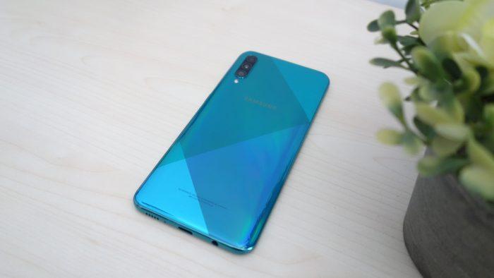 Samsung Galaxy A50s Desain