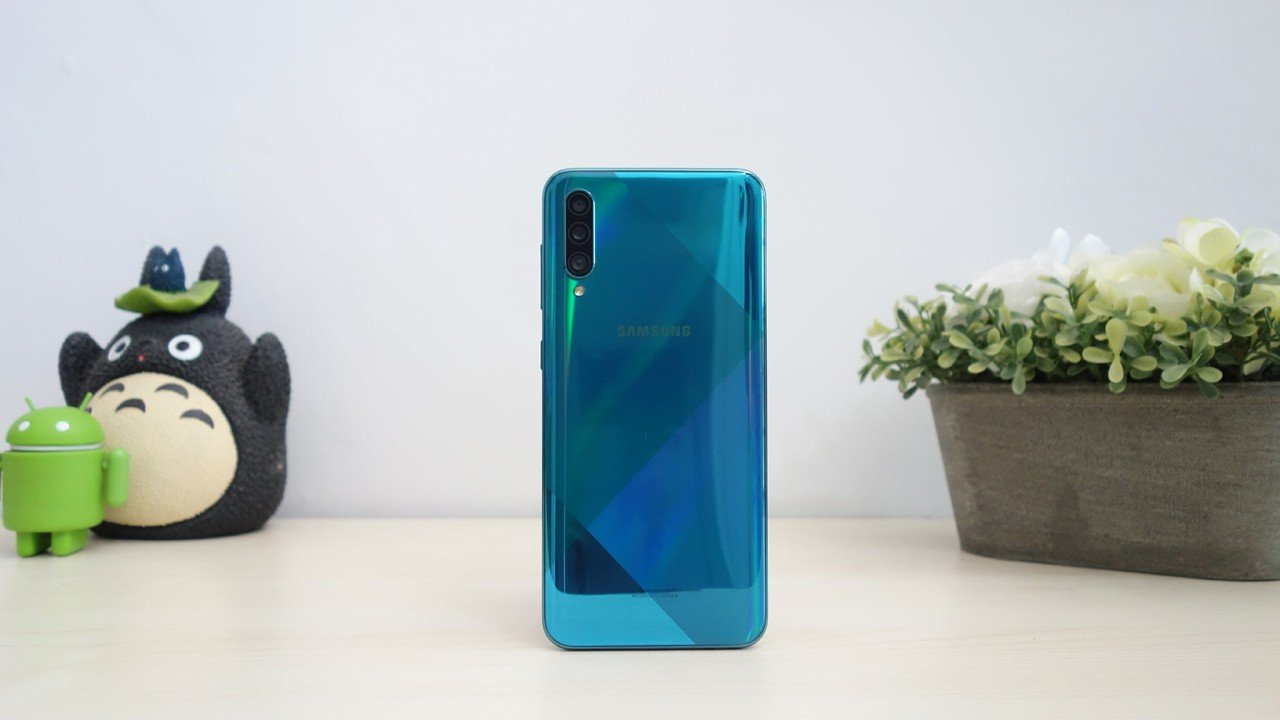Review Samsung Galaxy A50s Header