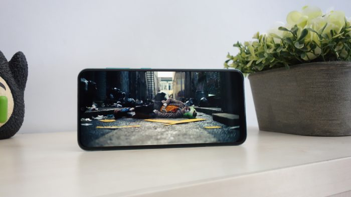 Review Samsung Galaxy A50s Layar