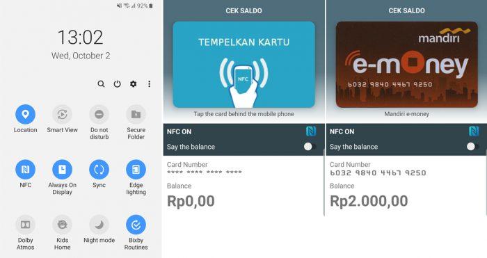 Samsung Galaxy A50s NFC