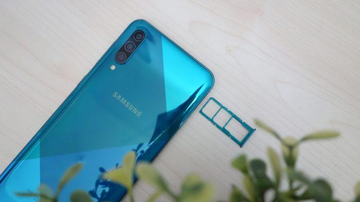 Samsung Galaxy A50s SIM Card