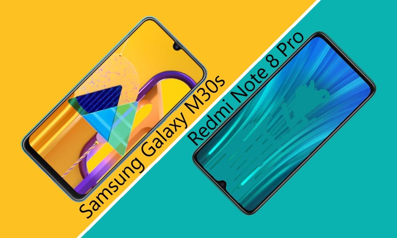 Samsung Galaxy M30s Vs Redmi Note 8 Pro Header