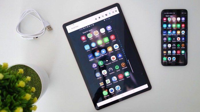 Samsung Galaxy Tab S6 Aplikasi Flow