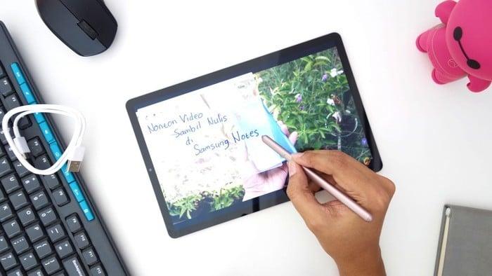 Samsung Galaxy Tab S6 Transparent Notes