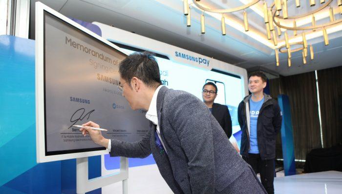 Samsung Pay Kerja sama