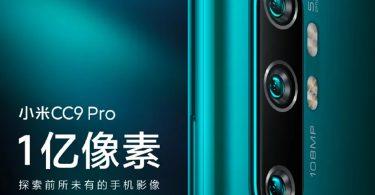 Xiaomi Mi CC9 Pro Poster Feature
